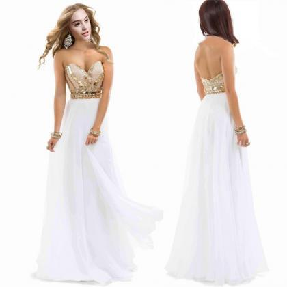 Luxury Beads Hot Sales Prom Dresses..