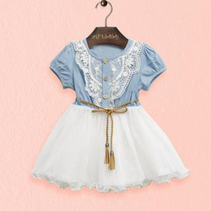 Fashion Denim Dress Girls 2016 New ..