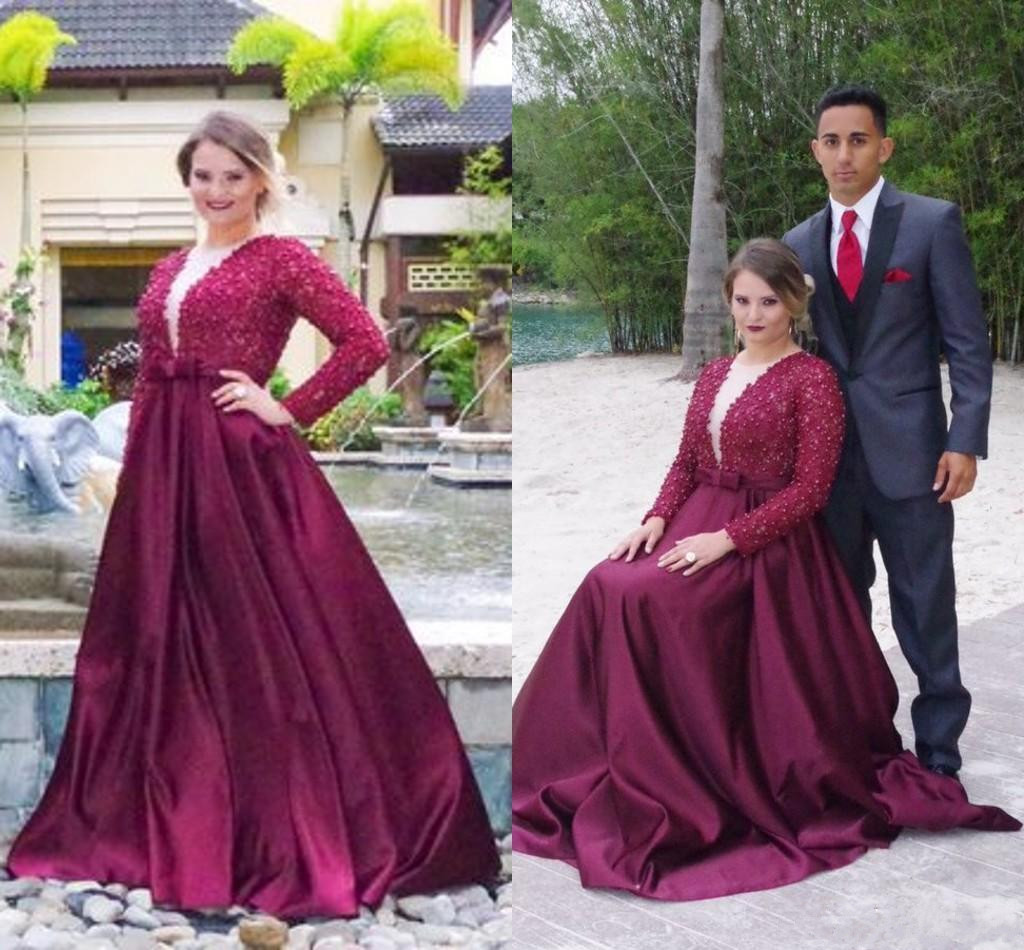 Prom Dress,Elegant Plus Size Prom Dresses,Purple Prom Gown,Prom ...