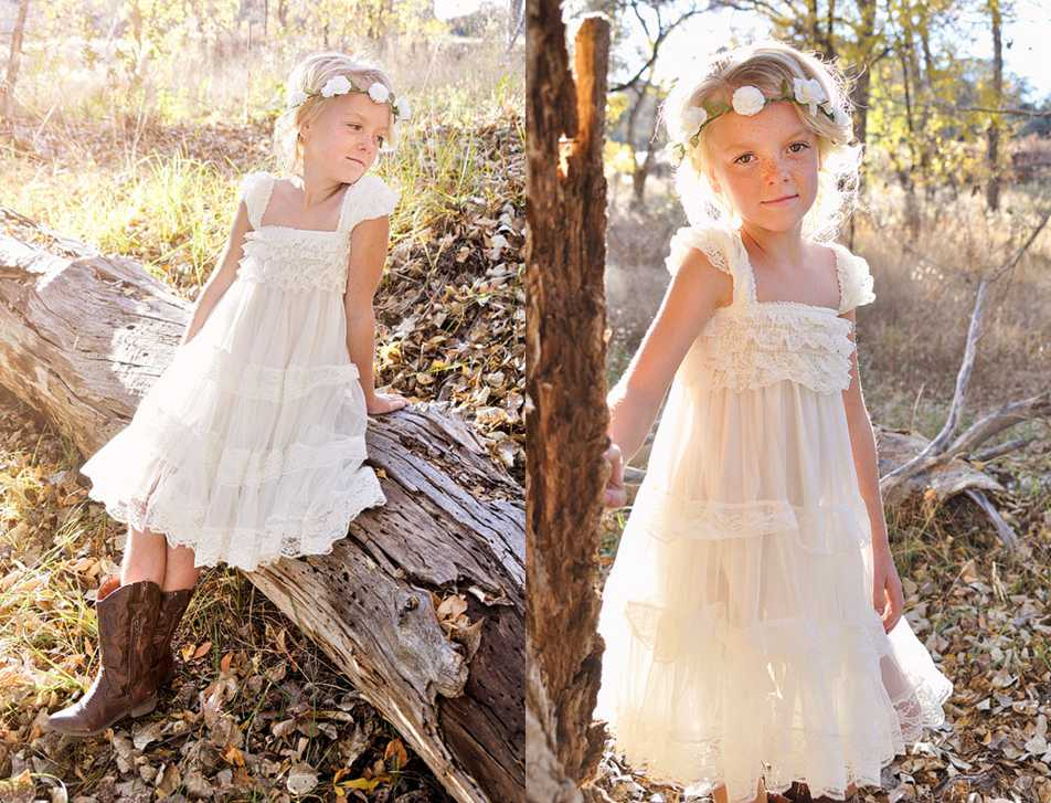 1e611dca0ef0 Flower Girl Dress Little Baby Girl Baptism Dress Tulle TuTu Infant Toddler  Pageant Birthday Party Christening Junior WeddingIvory Lace Flower Girl  Dress ...