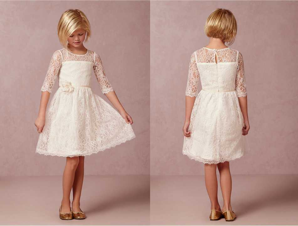 a5ebc4675b4 Flower Girl Dress Flower Girl Dresses Cream dress Lace dress Rustic Girls  Dress Baby Lace Dress