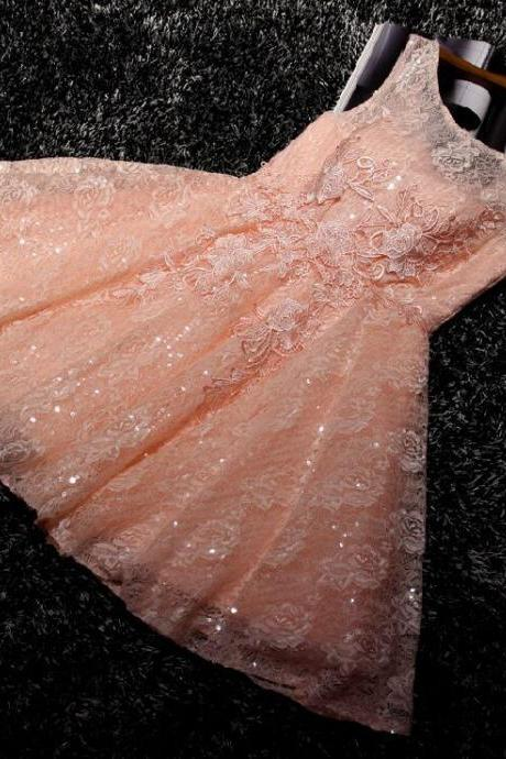 Homecoming Dress Short Pink Homecoming Dress Short Halter Prom Dress Cheap Prom Dress LACE Party Prom Dress