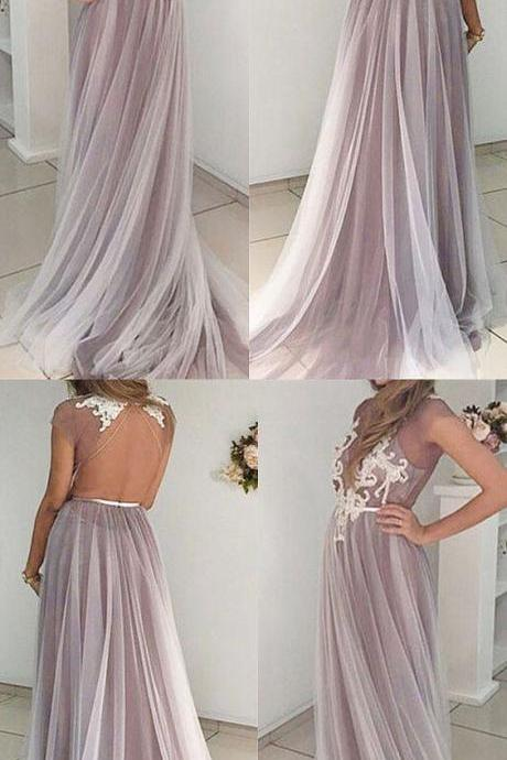 Prom Dress,Round Neck Dress,Open Back Prom Dress,Appliques Dresses,Dresses ,Junoesque Prom Dresses,Simple Prom Dress,Eleg Glamour Evening Dress,Ant Prom Dresses,Sumptuous Prom Dresses,beautiful Prom Dresses,Romantic Prom Dresses,Wedding dress,clothing,Women's clothing,2018 Evening Dress,2017 Prom Dresses,2018 Prom Dress