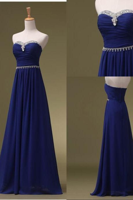 Bridesmaid Dresses Long Royal Blue Bridesmaid Dresses