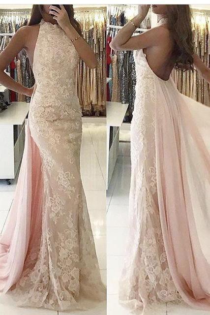 Mermaid Evening Dress, Backless Evening Dress, Sexy Evening Dress, Evening Dress 2018, Cheap Evening Dress, Women Formal Dress