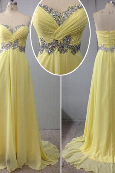 Chiffon Prom Dresses,Evening Dress,Sweetheart Prom Dress,Sequined Prom Dress,Sequins Prom Gown,Sexy Prom Dress,Long Prom Gown