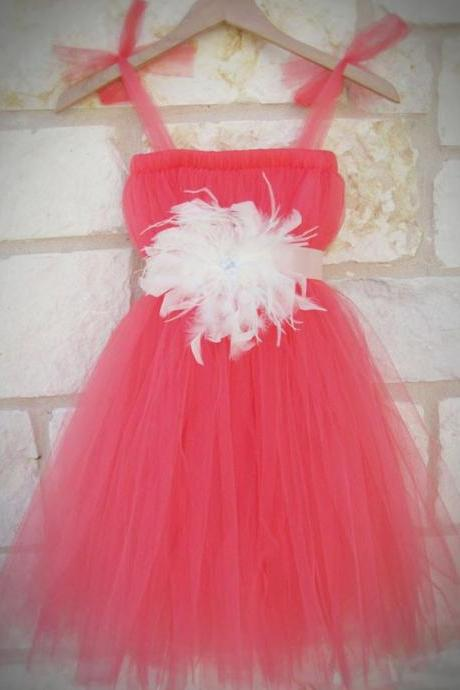 Long Little Girls Party Dresses Square Neckline Pleats A Line Girls Pageant Dresses Long Red Little Flower Girls Dresses 2016