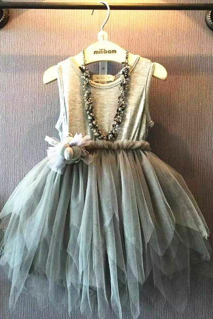 2016 New Summer Girls Dress Children Princess Dress Girls Veil Irregular F-0018