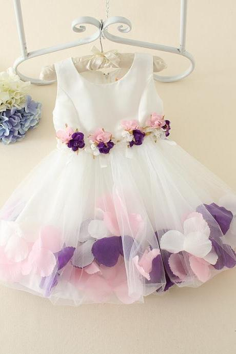 2016 Casual Dress Wedding Children Dress Girls Gauze Dress Even Small Children F-0050