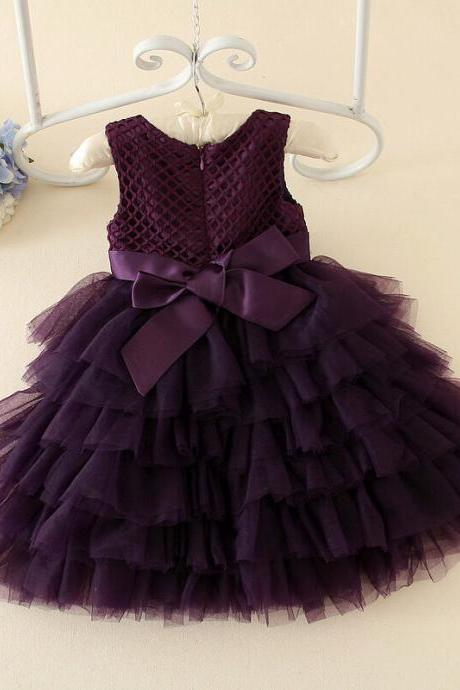 Children Dress Skirt Spring New Princess Dress Children Dress Children Dress Bow Spring F-0060