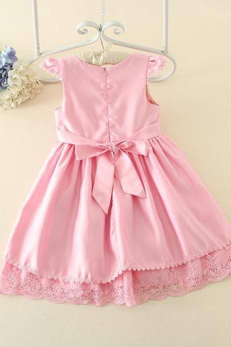 2016 Summer New Girls Skirt Children Lovely Princess Dress Children Dress Wedding Dress Tutu F-0064