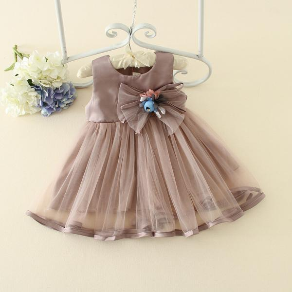 Fresh 2016 Summer New Girls Skirt Children Cute Princess Dress Children Dress Wedding Dress F-0056